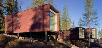 100 Tree House Studio Wood Gallery Of Arctic Hotel Puisto 15
