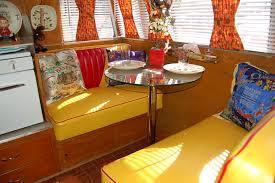 Camper Interior Decorating Ideas by Vintage Camper Trailer Interior Tent Idea