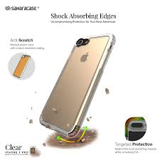Amazon iPhone 8 and 7 Case SaharaCase Clear Protective Kit