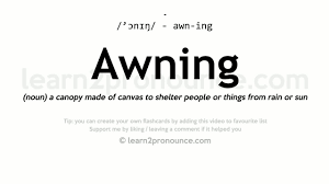 Awning Pronunciation And Definition - YouTube Framestore Vr Studio Expands With New Montral Office Animation Support Teams Awn Unleashed Poster By Kerry Awn The Next Waltz Draft Full Pro Wrestling Amino Cybersoc Arctic Wolf Secumarrettungswestebravo How To Pronounce Youtube Airportdata Web Service Technical Specifications Mapping Lennoxhearthproducts Nawa Ankergurtbandrolle Gnstig Kaufen Nawa Awnde Meaning