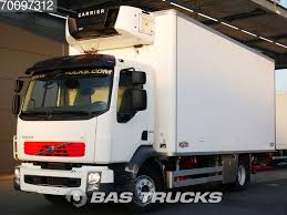 VOLVO FL 240 4X2 Trennwand Ladebordwand Refrigerated Trucks For Sale ...