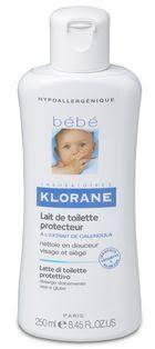 lait de toilette protecteur klorane bébé klorane beauté test