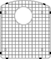 blanco 406490 diamond sink grid stainless steel plumbing