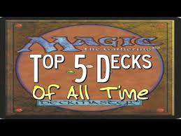 Competitive Samurai Deck Mtg by Mtg Top 5 Favorite Magic Decks Of All Time Youtube