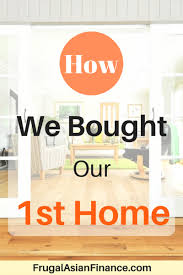 How We Bought Our First Home