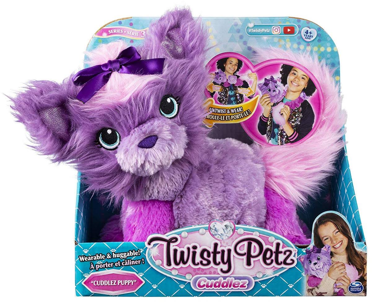 Twisty Petz Cuddlez, Cuddlez Puppy Transforming Collectible Plush for Kids Aged 4 and Up