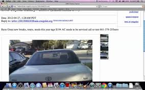 Craigslist Bakersfield - Finding Used Older Cars And Trucks Under ... Craigslist Las Vegas Cars And Trucks By Owner 1920 New Car Specs Sf Bay Area Cars Amp Trucks Owner Craigslist Ducedinfo Best Free Bakersfield And 6 30207 On Hampton Roadstrucks In Alabama Kenworth W900a For Sale Used Top How Not To Buy A Car On Hagerty Articles 1978 Gmc Automatic Motorhome For Sale In California Sf Bay Area 82019 Reviews Truckdomeus Steps Search Houston Big Seo Business Owners Ca Youtube Beyond The Food Truck Trendy New Mobile Trailer Businses