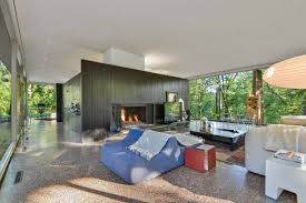 100 Houses Architecture Magazine For Sale A Perfect Modernist Glass House In Olympia Fields