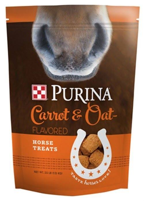 Purina Horse Treats - Carrot & Oat