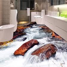 nach 3d boden tapete badezimmer wc schlafzimmer pvc boden aufkleber decor wasserdicht self adhesive vinyl tapete wandmalereien 3d