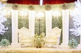 Beautiful White Malay Wedding Dais Decor Singapore Photography