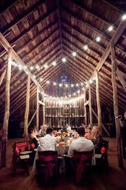 Barn Wedding Ideas Lighting