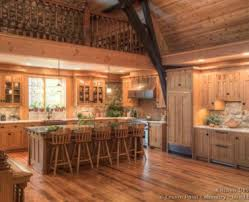 Rustic Log Cabin Kitchen Ideas by Elegant And Peaceful Log Home Kitchen Design Log Home Kitchen