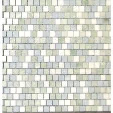 Urban Tapestry Interlocking Glass Mosaic Tile SMOTGLSILUT6MM