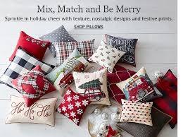 all pillows throws pottery barn