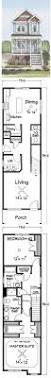 Small Narrow House Plans Colors This Charming Narrow Lot Friendly Garden City Plan Provied Large