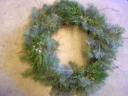 Christmas Tree Preservative Spray by Natural Materials From Your Yard Can Dress Up Evergreen Wreaths