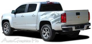 100 Gmc Canyon Truck 2015 2016 2017 2018 GMC Bed Stripes ANTERO Decals Rear