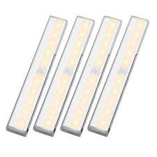 cabinet lighting wireless pir motion sensor light pack of