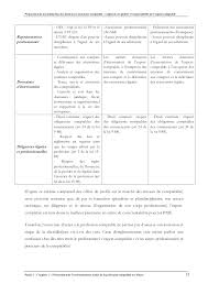 mémoire proposition de normalisation des missions d assistance