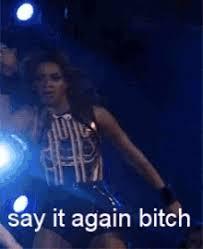 Beyonce Say It Again GIF