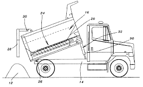 Patent US6881022 - Combined Dump Truck And Spreader Apparatus ...