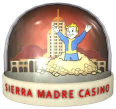 Last Curtain Call At The Tampico by Snow Globe Sierra Madre Fallout Wiki Fandom Powered By Wikia