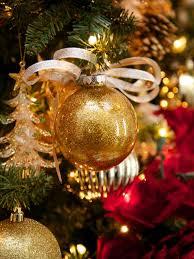 Tiki Barbers Red And Gold Christmas Tree