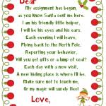 Elf The Shelf Arrival Letter Template Google Search