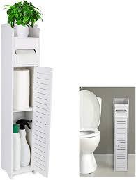 gotega kleine badezimmer aufbewahrung toilettenpapier aufbewahrung eck bodenschrank mit türen und regalen badezimmer organizer möbel eckregal für