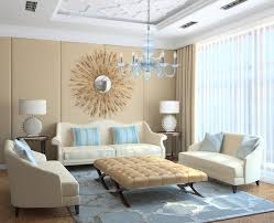 modern light blue translucent glass chandelier modern living