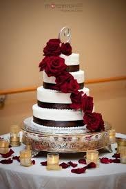 52 best Black red white and simple wedding cakes images on Pinterest