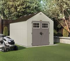 Lifetime 15x8 Shed Uk by Suncast Tremont Shed 8ft X 13ft Gardensite Co Uk