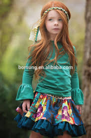 fall winter emerald pine lily skirts u0026 ruffle sleeve shirts