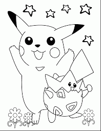 Surprising Cute Pokemon Coloring Pages With Printable And Xy