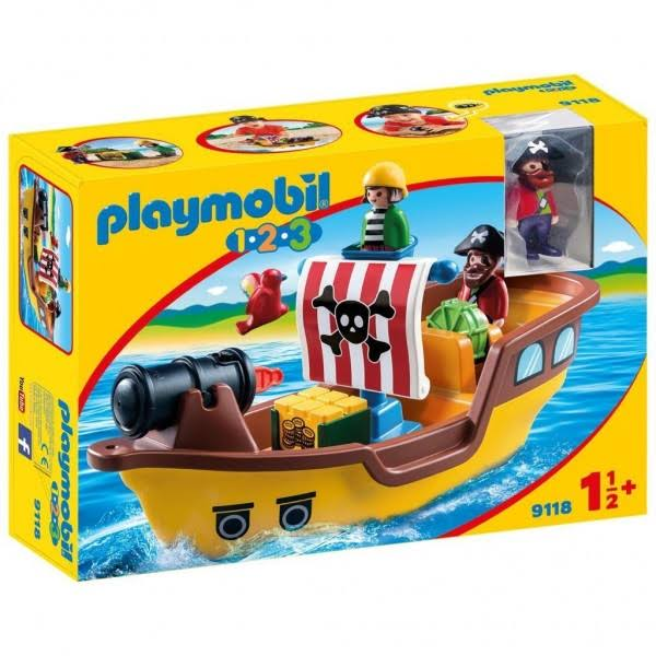 Playmobil Pirate Ship With 2 Characters