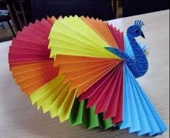 Folded Paper Craft For Kids 4