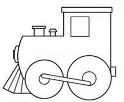 Train Coloring Pages 3