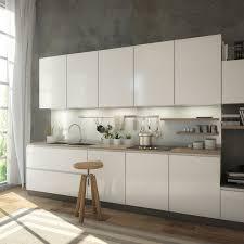 glasrückwand küche grau silber metallisch glänzend ral