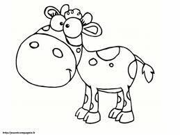 20 Dessins De Coloriage Vache Rigolote À Imprimer Avec Dessin De 90