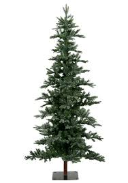 Frosted Shawnee Fir Christmas Trees Tree Market Inside Rustic Artificial