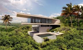 Steep Slope House Plans Pictures by Bali House Concept Design E Architect