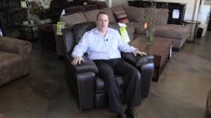 Sanford furniture leather recliner Bassett Furniture Hudson s Furniture in Orlando area