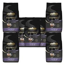 lavazza kaffee espresso barista intenso ganze bohnen bohnenkaffee set 7 x 1000 g
