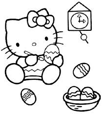 Full Image For Hello Kitty Coloring Pages Mermaid Free Pdf Easter
