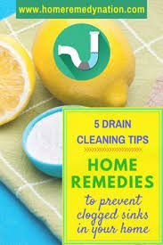 Natural Remedy For Clogged Bathroom Drain by Unclog Drain Unclogging Drains Homemade Drain And Soda
