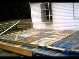 Decking Made From Pallets