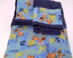 Finding Nemo Bath Set by Finding Nemo Etsy