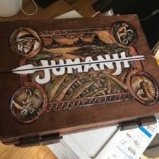 Jumanji Inspired Wooden Board Game 11 Scale