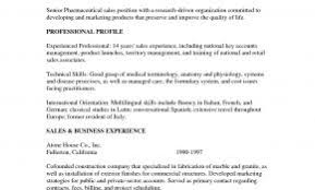 Resume Examples For Pharmaceutical Jobs New Sales Cover Letter Awesome With Sample No